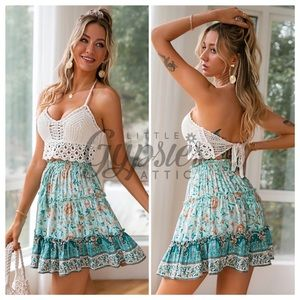 She Walks in Beauty Mini Skirt